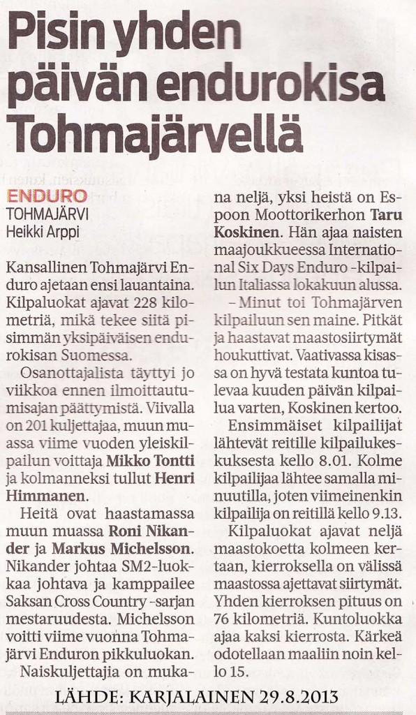 karjalainen 29 8 2013
